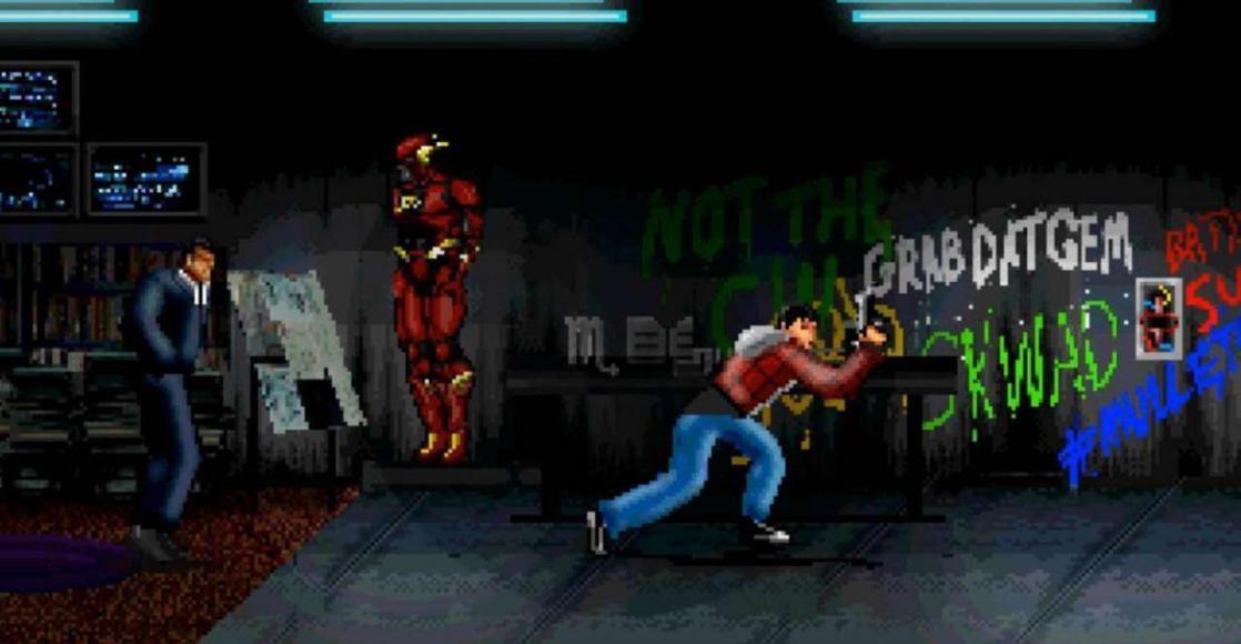 trailer di Justice League in 8-bit