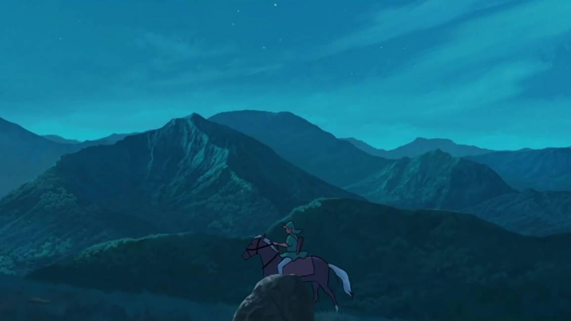 trailer di The Legend of Zelda studio ghibli