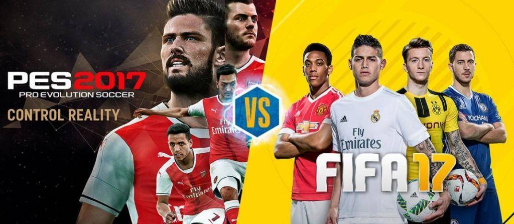 FIFA 17 vince contro PES 2017