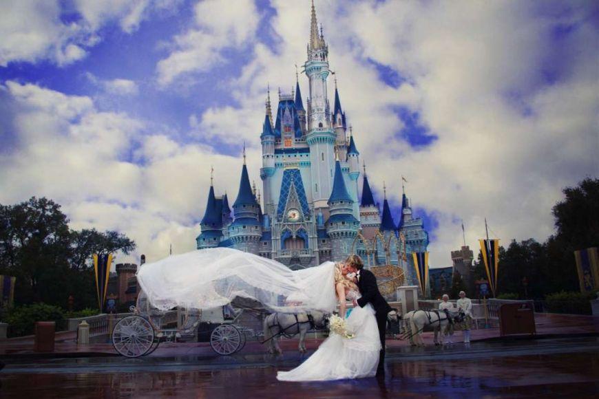 Sposarsi nel castello di Cenerentola