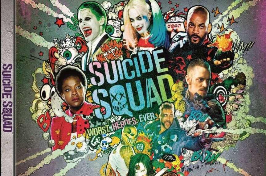 Steelbook di Suicide Squad