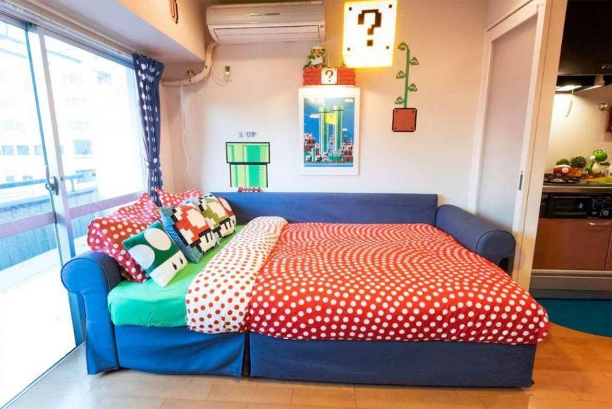 affittare un appartamento stile Super Mario