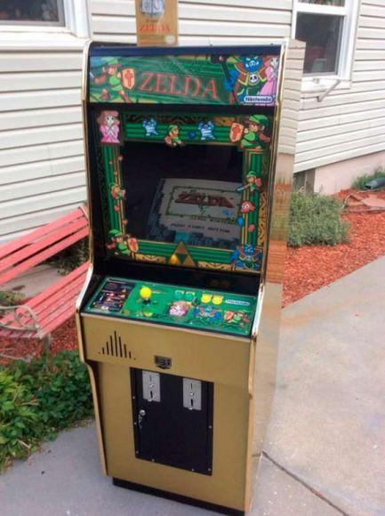 videogame cabinato de La Leggenda di Zelda