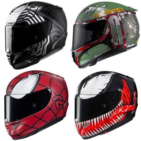 caschi per motociclisti nerd