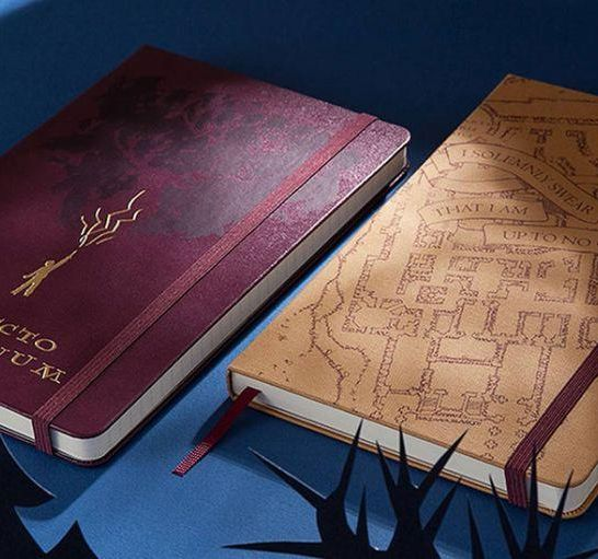 taccuini Moleskine di Harry Potter