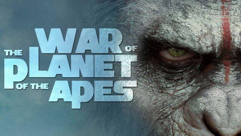 motion poster di War for the Planet of the Apes