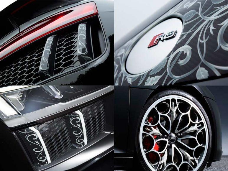 Audi R8 di Final Fantasy