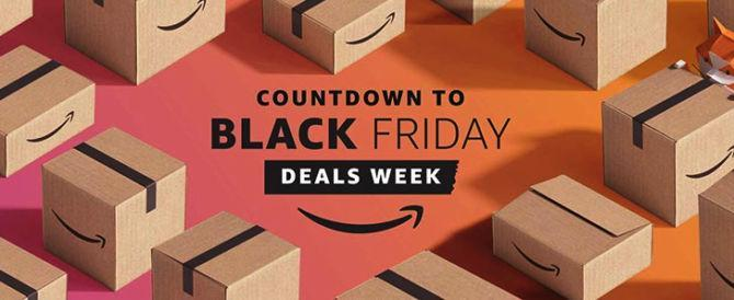 Black Friday arriva in anticipo su amazon