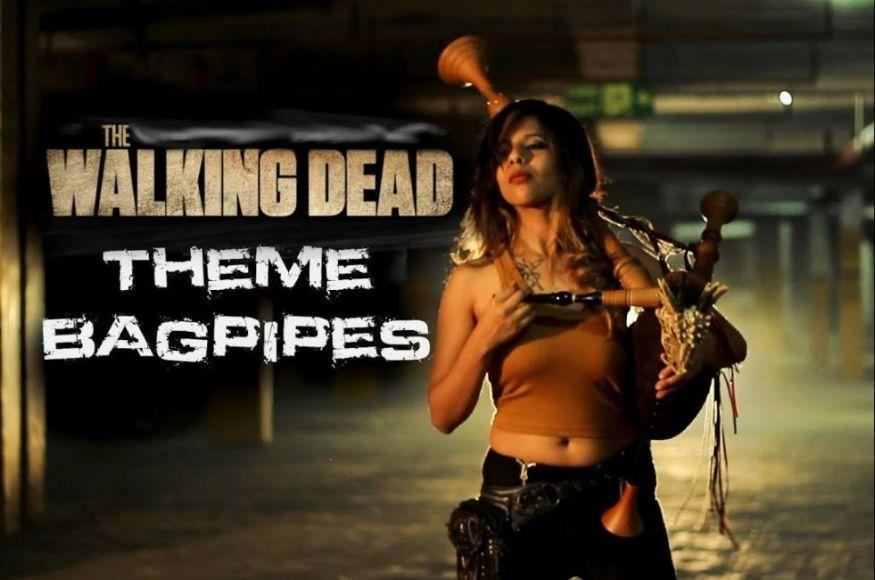 cover della colonna sonora di The Walking Dead
