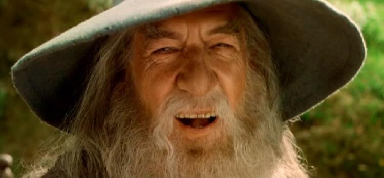 Gandalf Signore Anelli Ride