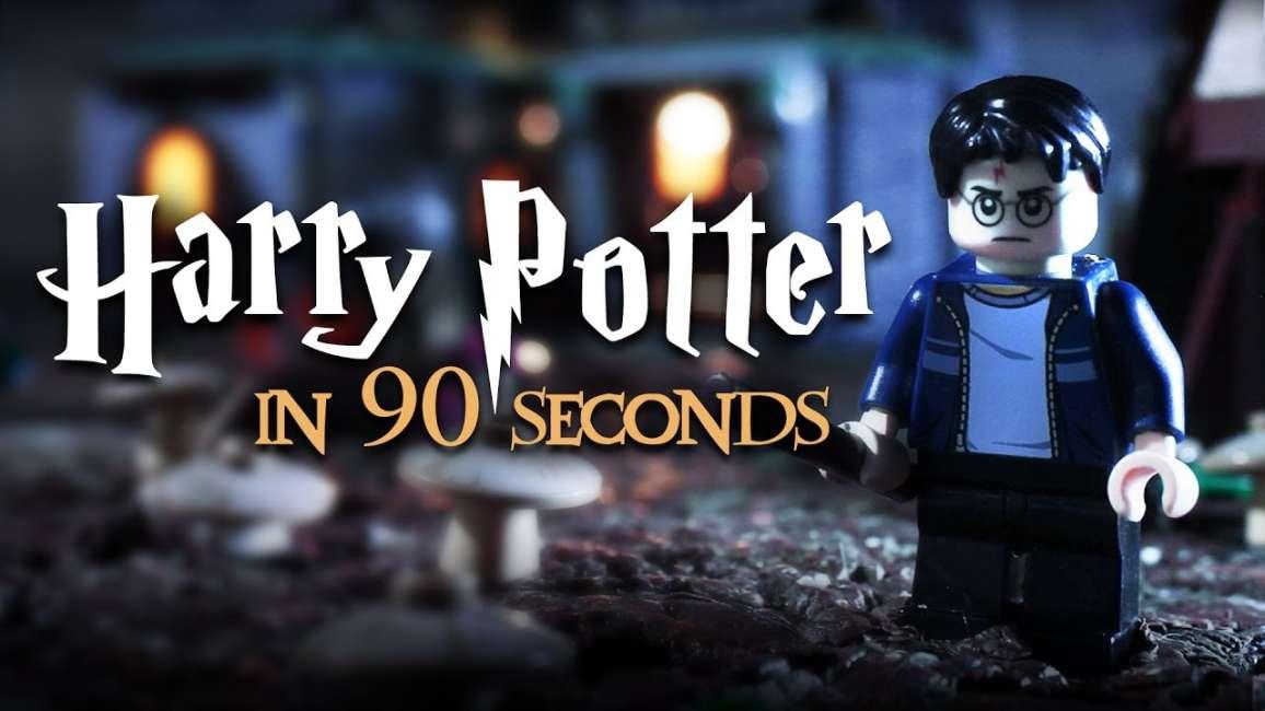 tutto harry potter in 90 secondi