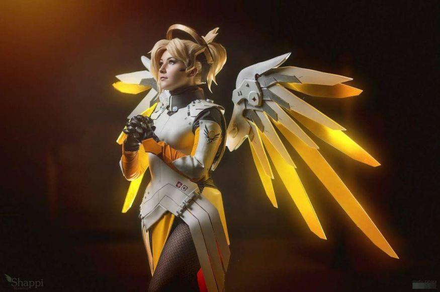 Cosplay di Mercy