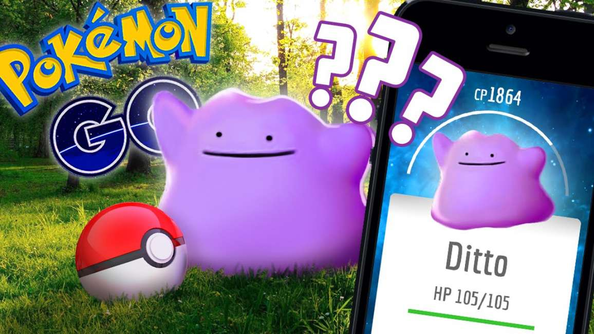 come catturare Ditto in Pokemon GO