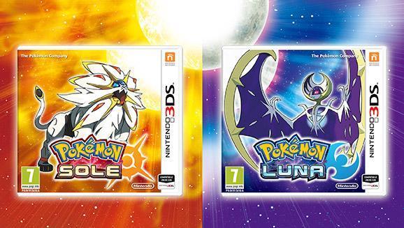 Pokemon sole e luna disponibili
