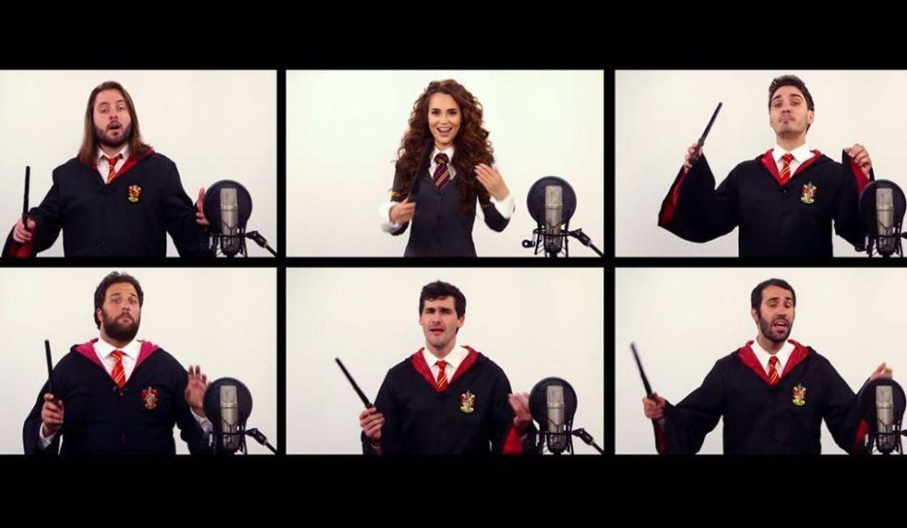 colonna sonora di Harry Potter cantata a cappella