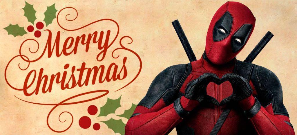 Deadpool in edizione speciale natalizia