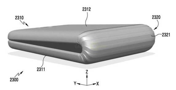 Samsung Galaxy X, lo smartphone con display pieghevole