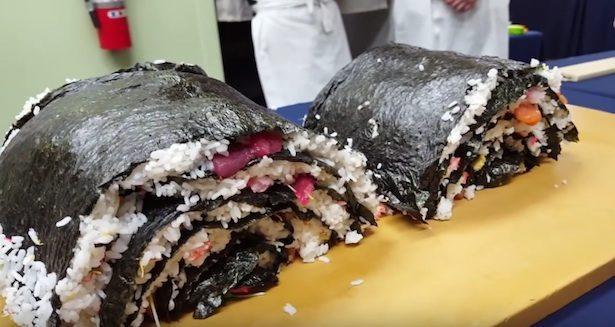 sushi roll gigante