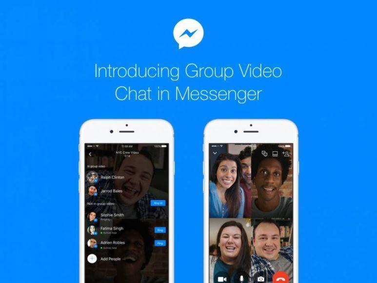 Facebook Messenger, arrivano le videochiamate di gruppo