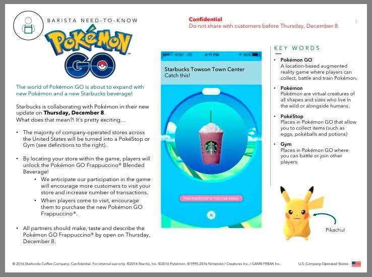 Pokémon GO e Starbucks