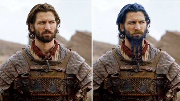 vero aspetto dei personaggi de Il Trono di spade