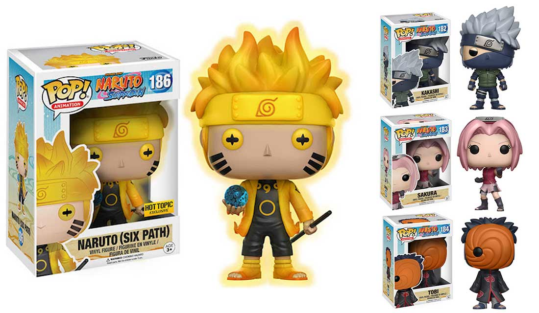 nuovi Funko Pop di Naruto