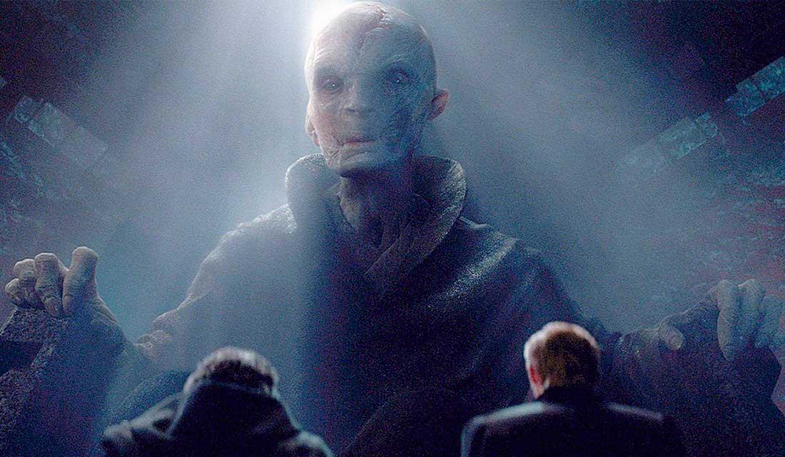 Leader Supremo Snoke star wars