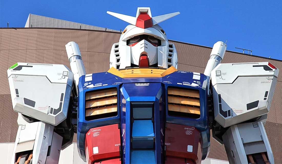 statua di Gundam