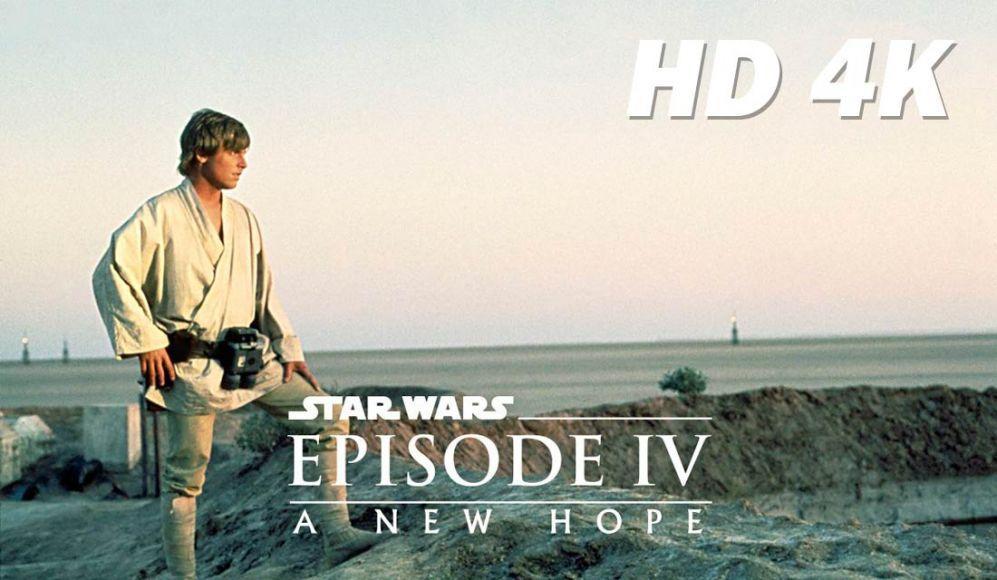 versione restaurata a 4K di Una Nuova Speranza