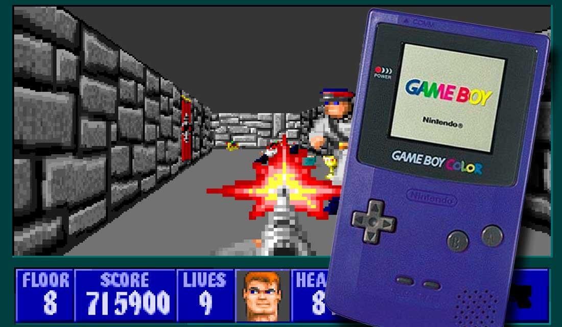 Wolfenstein 3D su Game Boy Color
