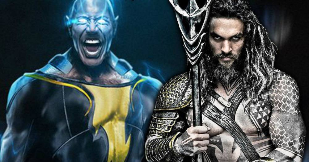 Rumors su un possibile cameo di The Rock come Black Adam in Aquaman!