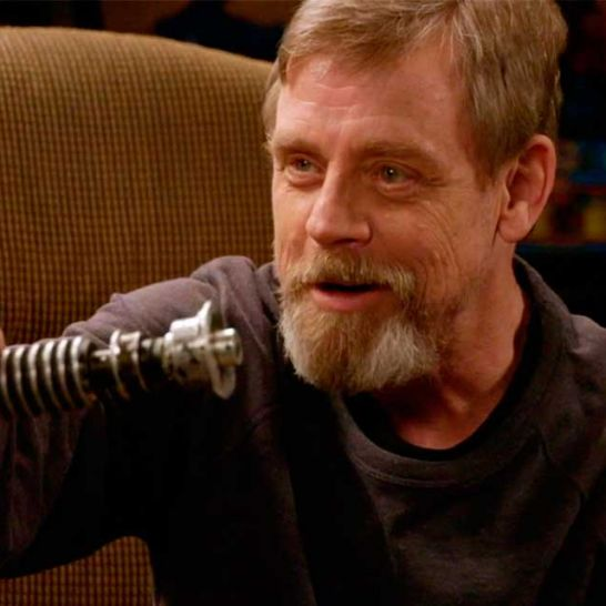 star wars Mark Hamill ritrova la sua lightsaber