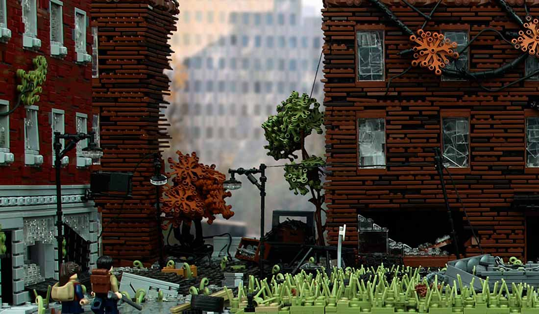 diorama di The Last of Us