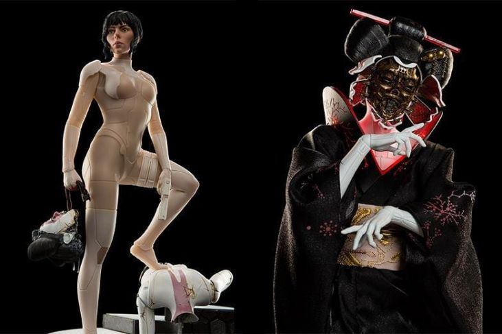 Action Figures di Ghost in the Shell