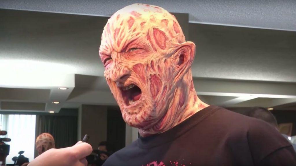 Freddy Krueger Nightmares in the Makeup Chair
