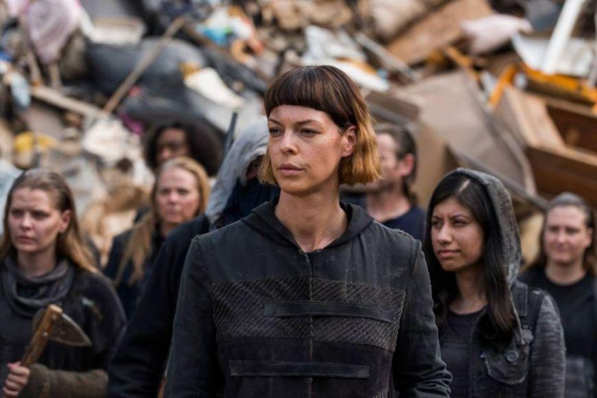 Jadis Pollyanna MCIntosh The Walking Dead 7