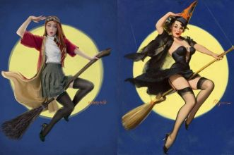 Pin-up di Hogwarts