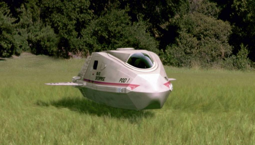 Star Trek Enterprise Shuttle Pod eBay