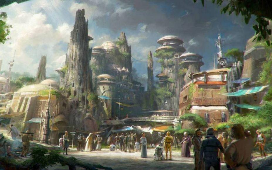 Star Wars Land: il parco a tema sarà inaugurato nel 2019