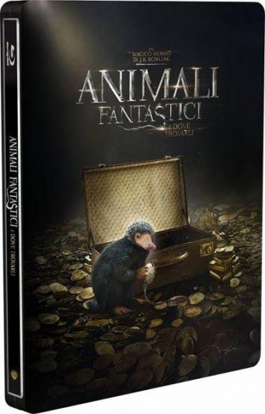 Steelbook di Animali Fantastici e Dove Trovarli