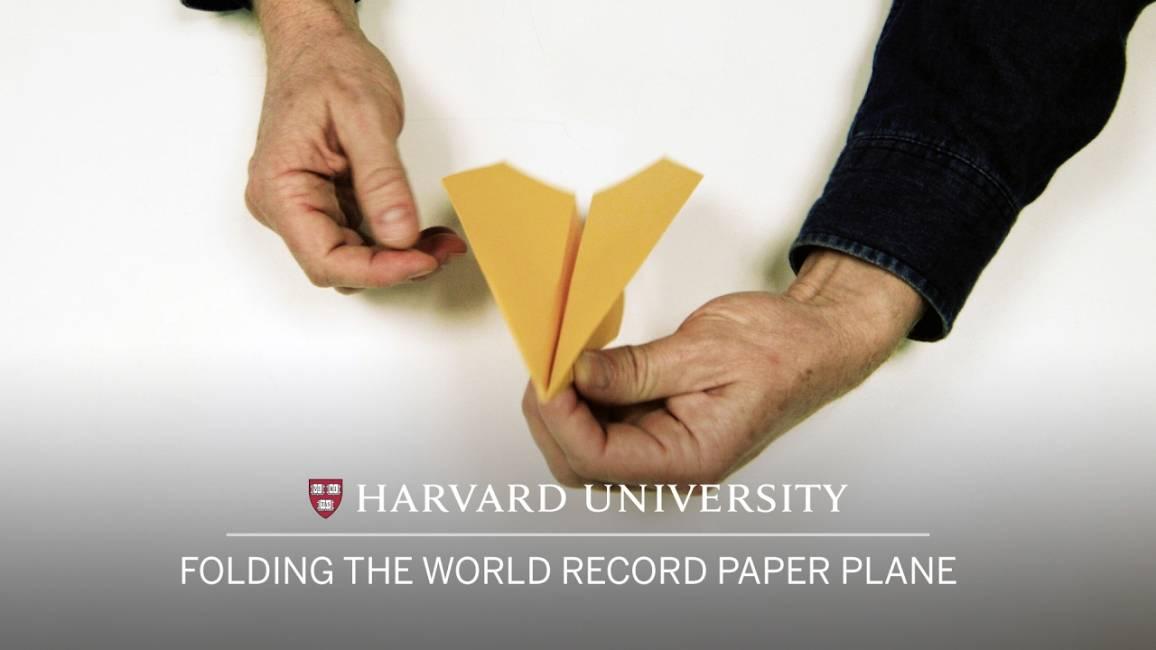 Aeroplanino di carta