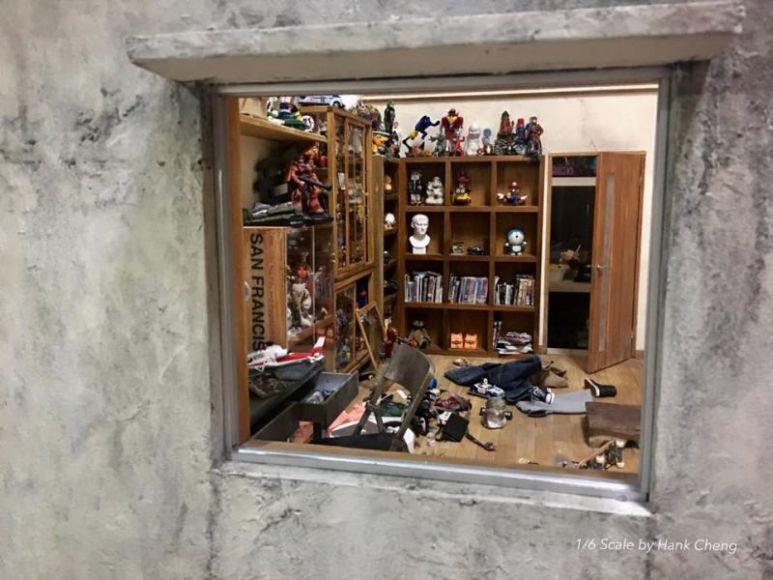 Ecco la stanza che ogni nerd vorrebbe avere, ma si tratta solo di un diorama