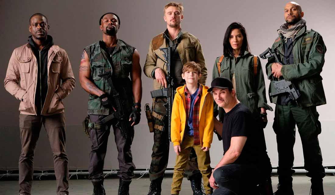 The Predator cast