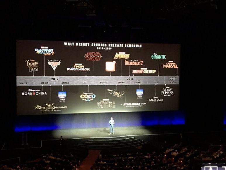 calendario Disney dei film in uscita fino al 2019