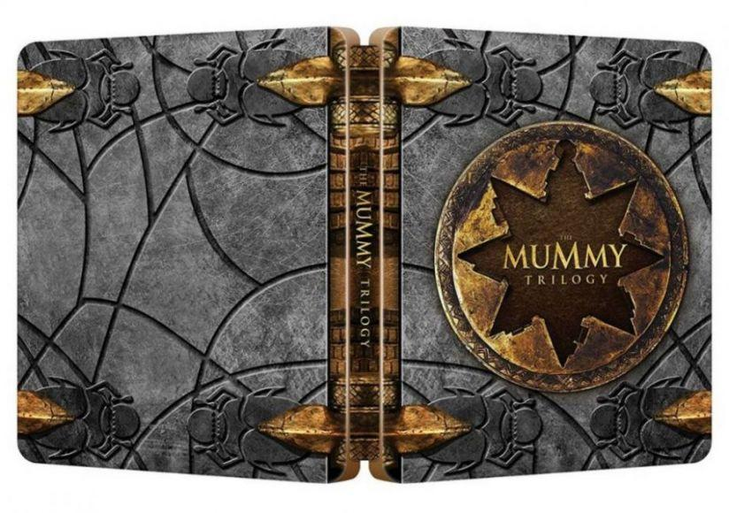 cofanetto steelbook de La Mummia