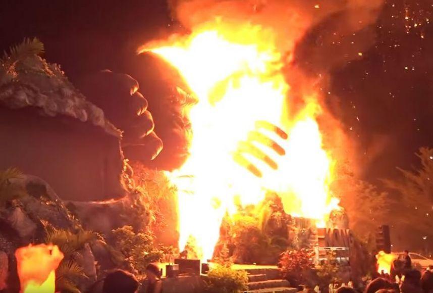 Kong Skull Island Incendio Saigon