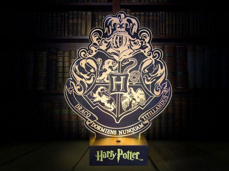 Lampada a tema Harry Potter