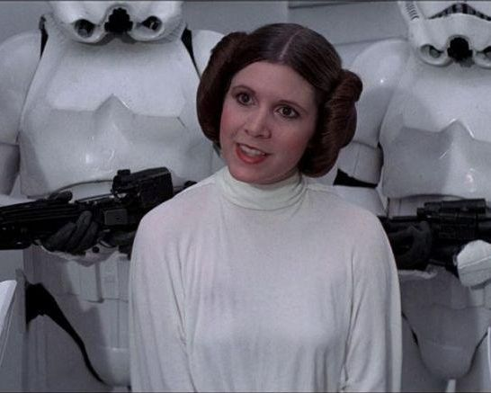 Principessa Leia Carrie Fisher