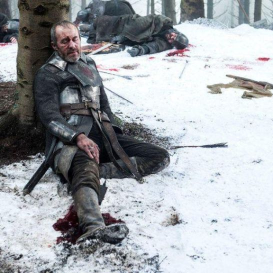 morte di stannis baratheon