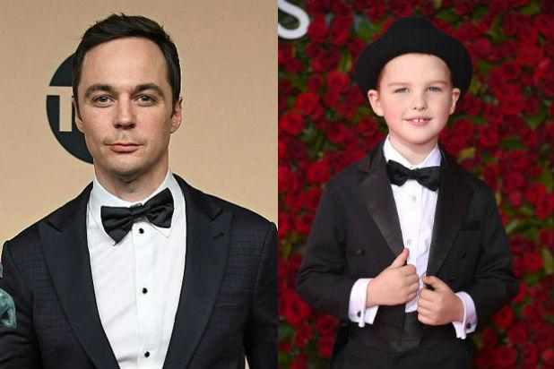 Iain Armitage Sheldon Cooper